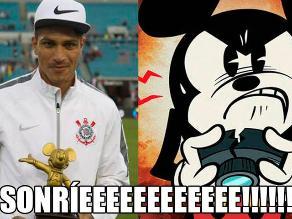 Paolo Guerrero y los divertidos memes por el trofeo que recibió en Florida