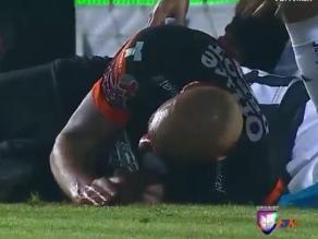 Youtube: Delantero argentino sufrió espeluznante corte en la cabeza