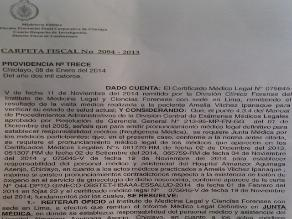 Caso de presunta negligencia médica en el Almanzor continúa dilatándose en MP