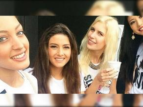 Miss Universo: Escándalo por selfie de reinas