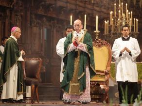 Cardenal Cipriani hizo votos para que Lima retome camino de la paz y humanidad