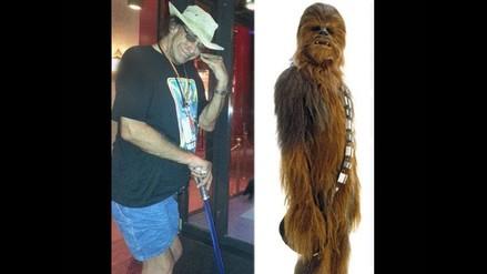 Chewbacca hospitalizado por neumonía