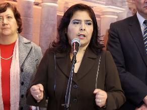 Ana Jara: gobierno dará facilidades para investigar presuntos reglajes