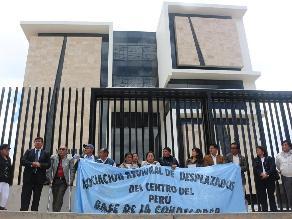 Huancayo: niegan ingreso de congresita Tejada al ´Lugar de la Memoria´