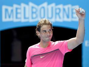 Abierto de Australia: Rafael Nadal fulminó al ruso Youznhy en primera ronda