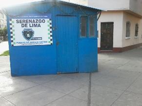 Cercado: Casetas de serenazgo cerradas desde inicio de nueva gestión