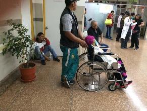 #Rotafono: Precarias condiciones en emergencias del Hosp. 2 de Mayo