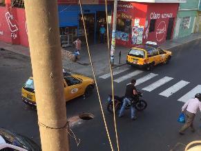 #Rotafono: Buzón sin tapa genera accidente vehicular en Trujillo
