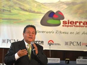 Sierra Exportadora generó ventas por S/. 605 millones durante el 2014