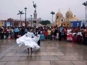 Trujillo: promueven baile de marinera en las plazas