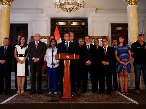 Ollanta Humala afirma que reglaje no tiene cabida en su gobierno
