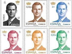 Nuevo sello con la imagen del rey de España incluye realidad aumentada