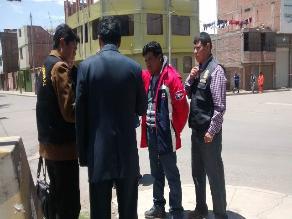 Puno: intervienen a conductor boliviano tras realizar peligrosa maniobra