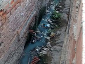 Puente Piedra: Canal de regadío se vuelve foco infeccioso
