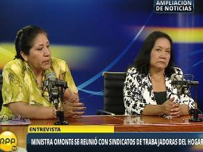 Trabajadoras del hogar piden que sus derechos laborales sean respetados