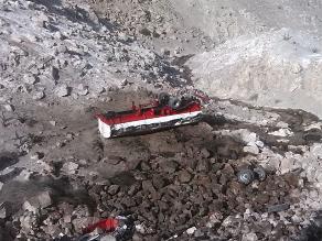 Ayacucho: un muerto y dos heridos deja vuelco de camión cisterna