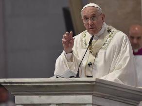 Papa Francisco: No se puede hacer guerra en nombre de Dios