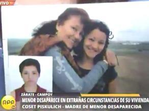 Padres piden a Eliarca, una joven de 15 años, vuelva a casa en Zárate