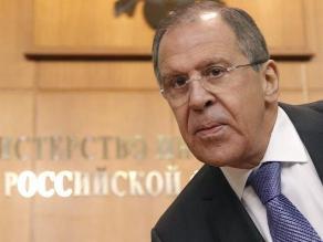 Canciller ruso dice que EEUU quiere dominar el mundo