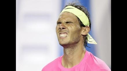 Rafael Nadal dijo que estuvo a punto de vomitar en Abierto de Australia