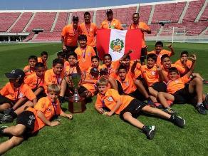 Equipo de menores Canteras Perú se consagró campeón en Santiago