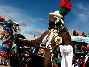 Jauja se llena de color y baila al ritmo de la tradicional tunantada