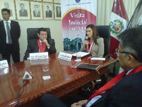 Arequipa: OCMA sanciona a 5 jueces de paz no letrados