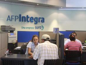 AFP Integra reducirá comisión para afiliados en esquema mixto