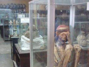 Huaral: sujetos hurtan restos arqueológicos de museo
