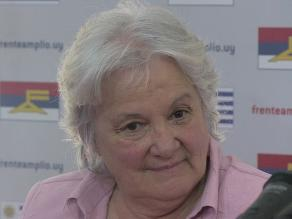 Esposa de José Mujica aspira a gobernar Montevideo