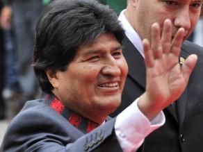 Evo Morales: Un día vamos a volver al Pacífico con soberanía