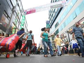 Ventas en Gamarra crecerán 10% por campaña de verano