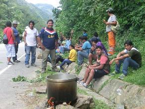 Chanchamayo: obreros piden trabajo a hidroeléctrica La Virgen