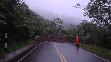 Deslizamiento impide acceso hacia el Parque Nacional del Manu