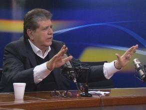 Alan García: Legislatura debe derogar Ley Jóvenes por discriminatoria