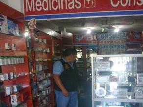 Arequipa: solo el 8 % de farmacias han sido empadronadas