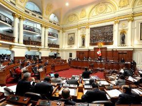 Oposición calificó legislatura extraordinaria como maniobra política