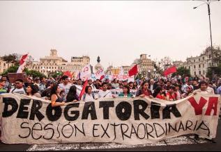 Ley Jóvenes: Organizaciones adelantan quinta marcha para el lunes 26