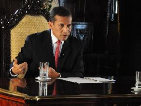 Ollanta Humala convoca legislatura extraordinaria para debatir Ley Juvenil