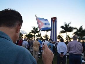 Cubanos en Miami critican negociación entre EEUU y Cuba