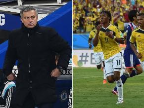Mourinho: Cuadrado encaja en la selección de Colombia, no en el Chelsea