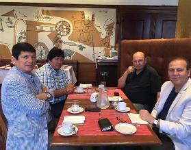 FPF: Sergio Markarián se reunió con la directiva en Uruguay