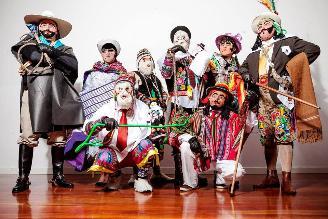 Jauja de fiesta con la danza de la Tunantada