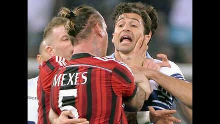 Milan vs. Lazio: Philippe Mexes