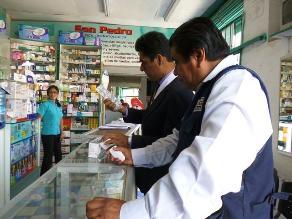 Lambayeque: 06 de febrero vence plazo de empadronamiento a farmacias