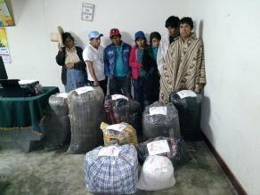Otuzco: capturan a clan familiar por venta ilegal de hoja de coca