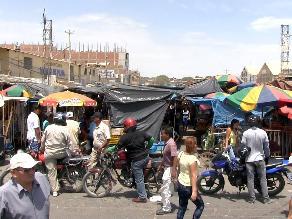 Piura: resguardo policial en Mercado Central por posible desalojo