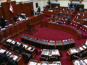 Ley jóvenes: Pleno del Congreso debate este lunes polémica norma