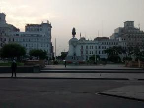 Ley Jóvenes: Gran despliegue policial en la Plaza San Martín por marcha