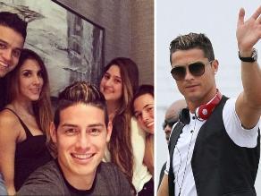 Cristiano Ronaldo: ¿James Rodríguez quiere imitar su corte de cabello?
